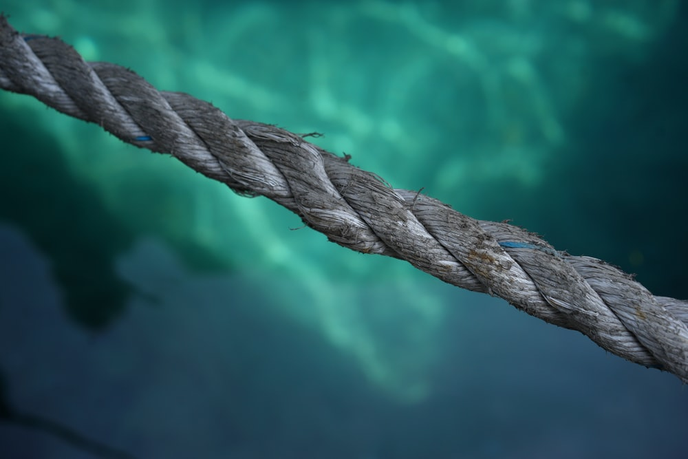photo of gray rope