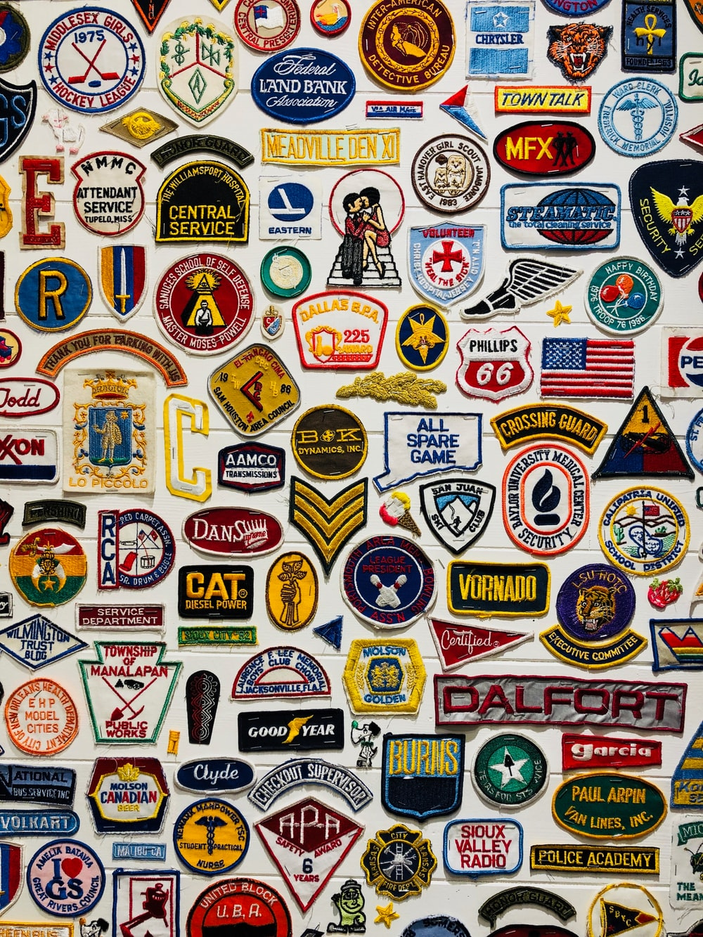 assorted logo lot
