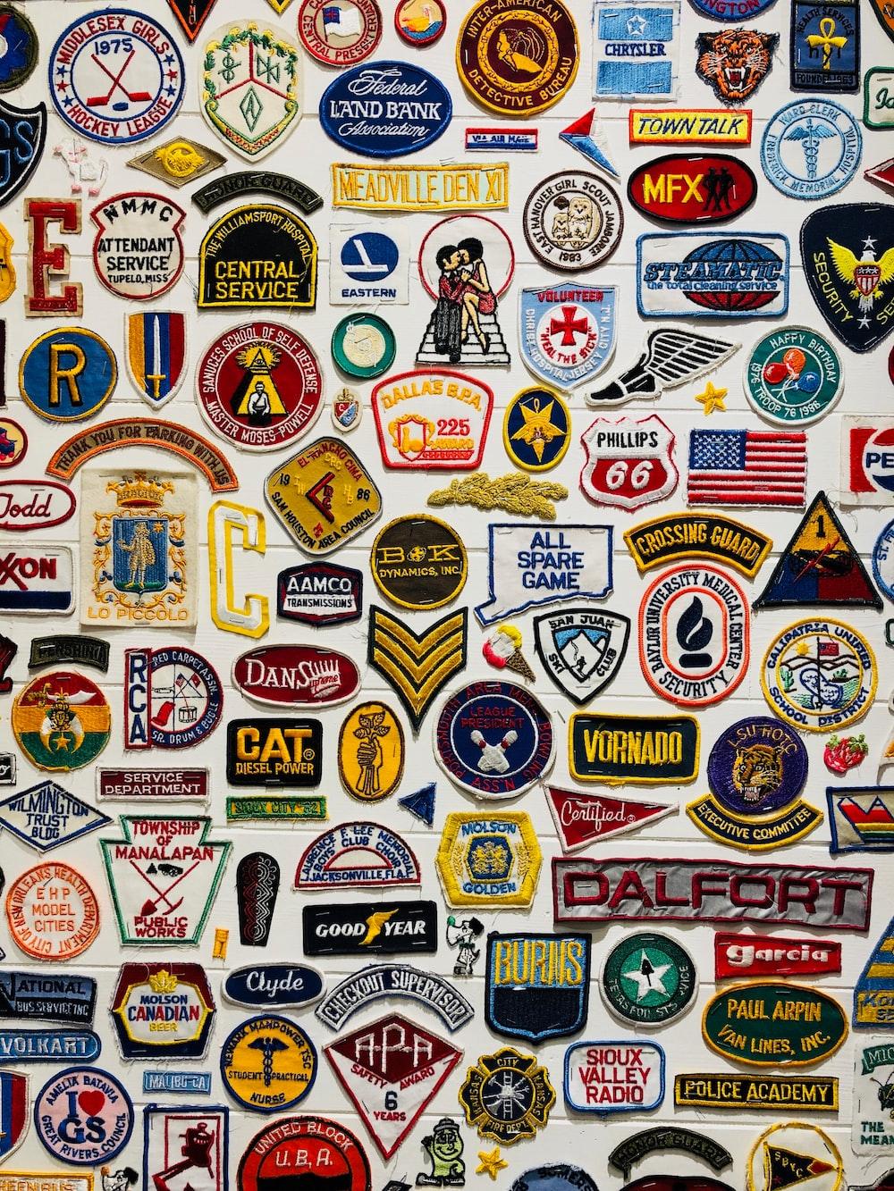 assorted logo lot