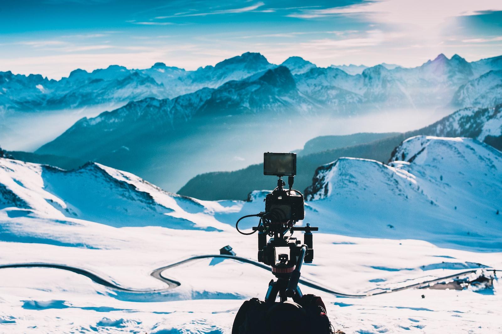 "Nikon D700 sample photo. ""Taking photo on snow"" photography"