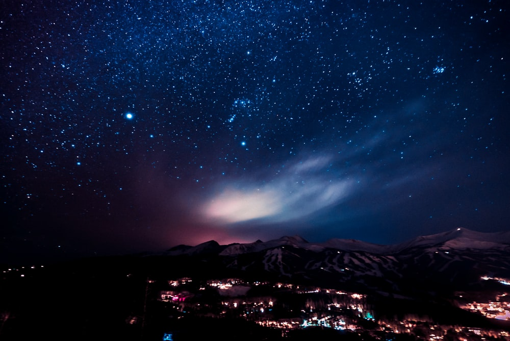 photo of aurora sky