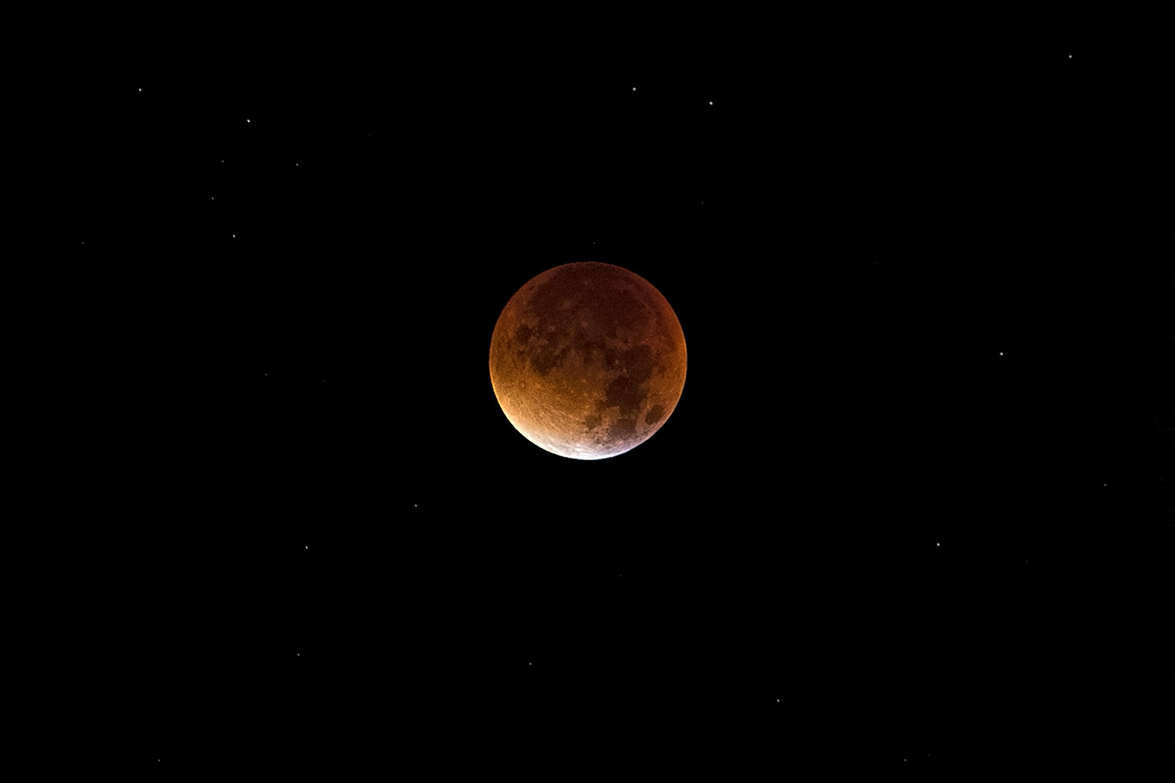 partial lunar eclipse