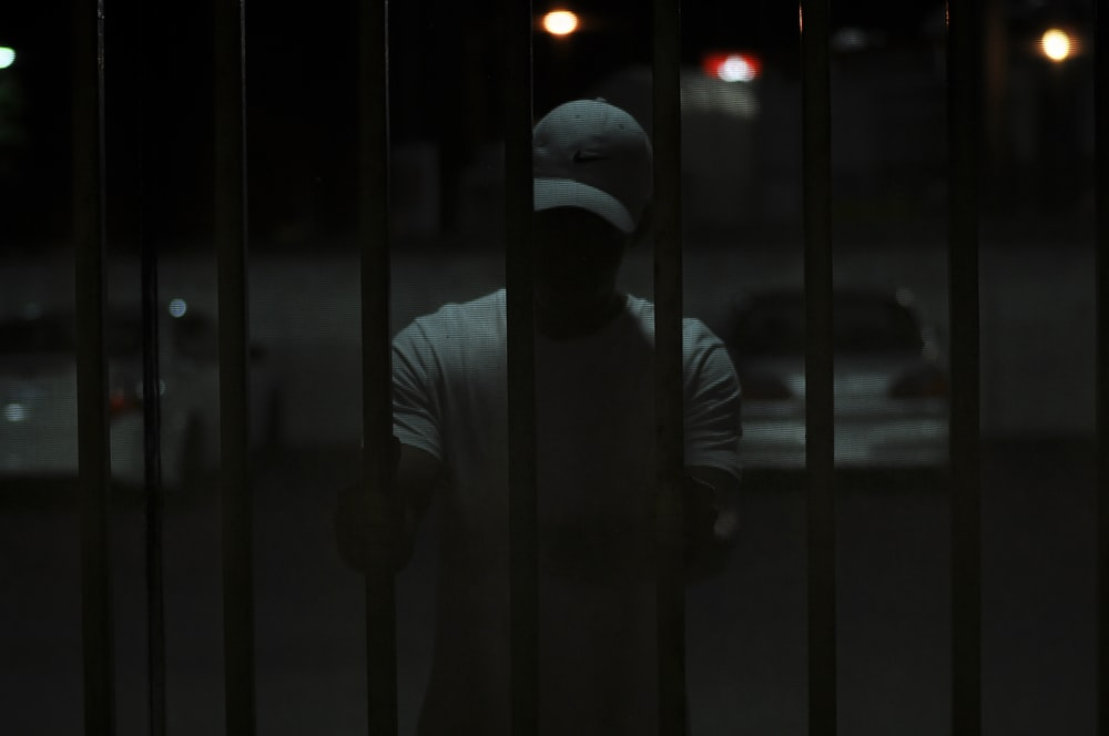 man inside cell