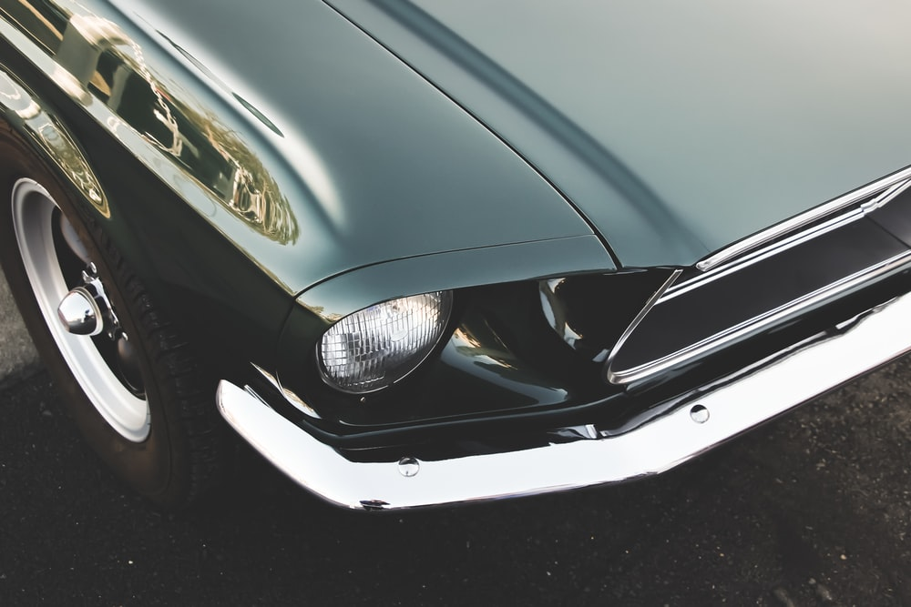 green car photography
