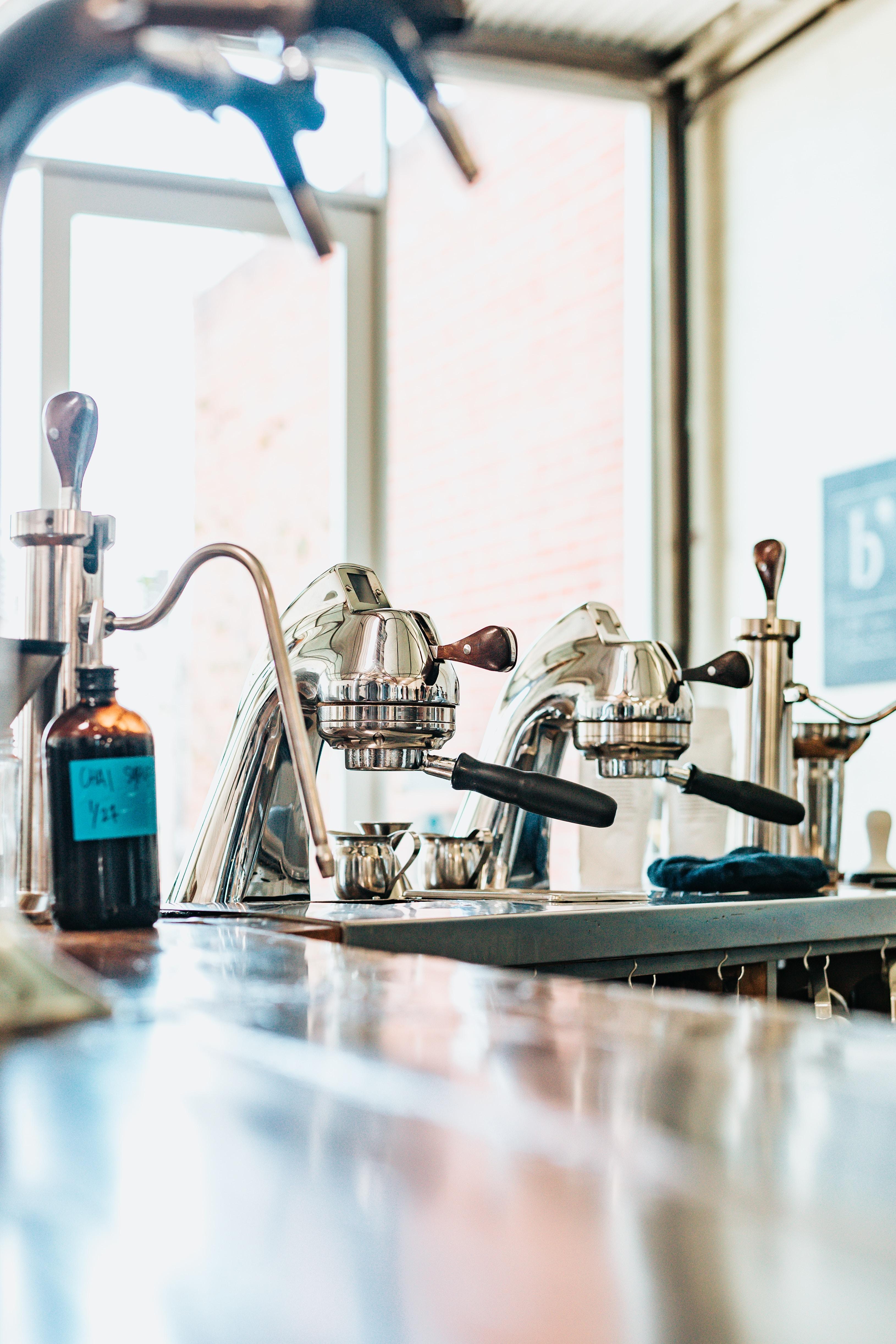 coffeemaker on table