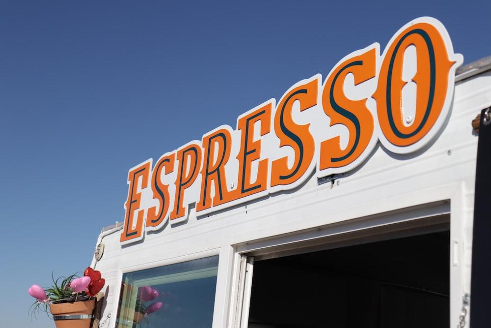 Espresso storefront