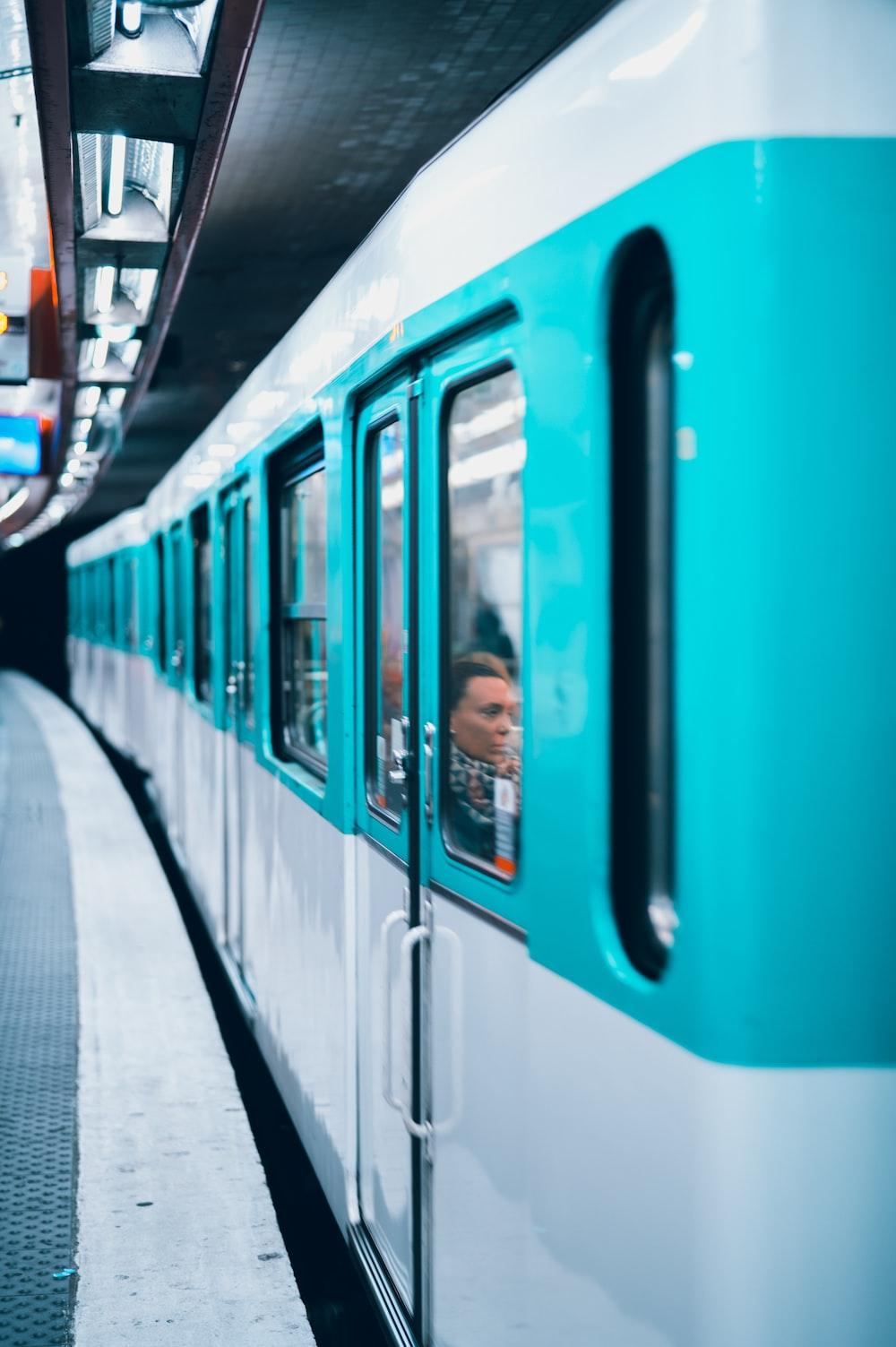 shallow focus of train