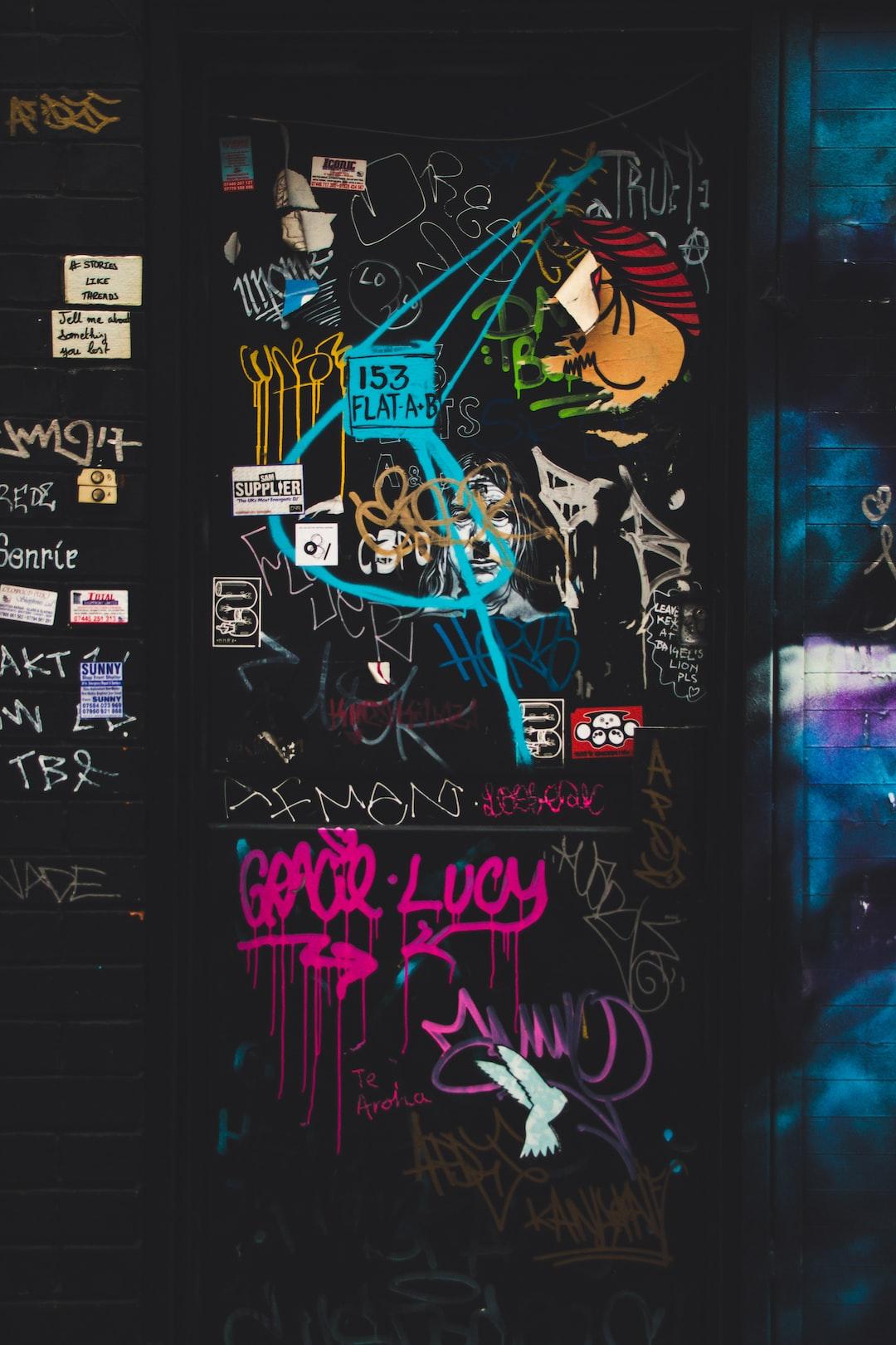 Graffiti in Shoreditch