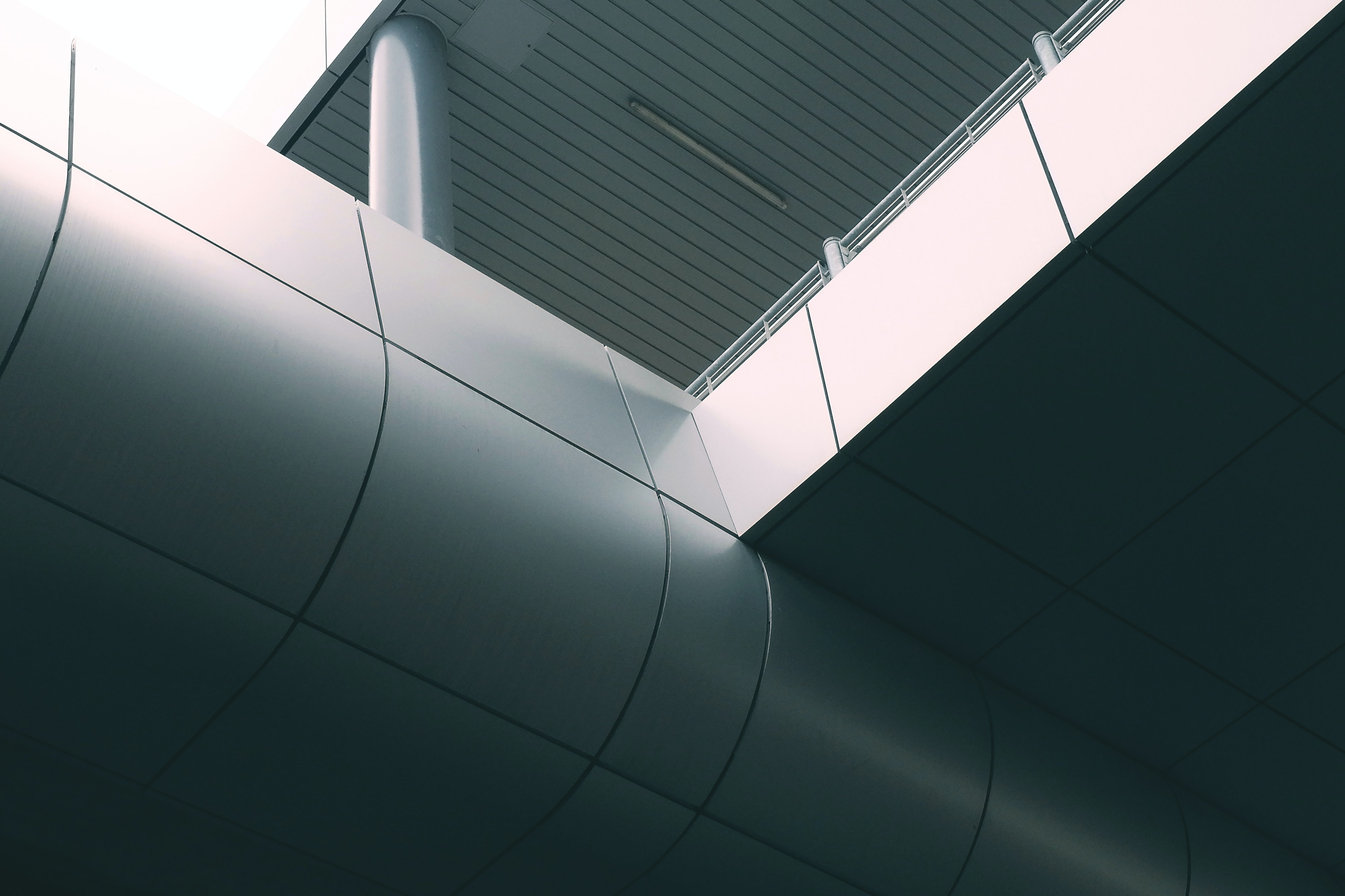 gray concrete terrace