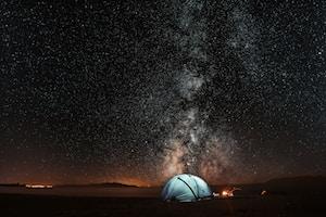 Tienda de acampar