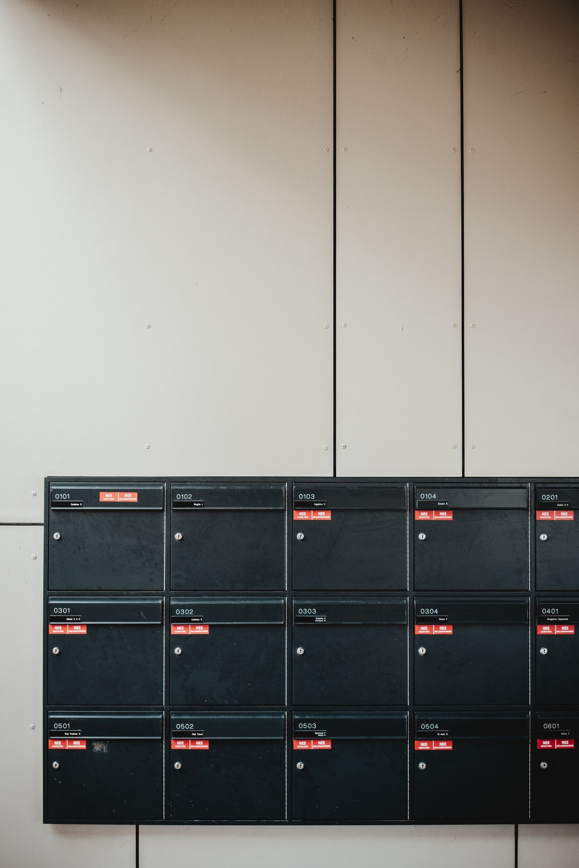 rectangular black cordless electronic device
