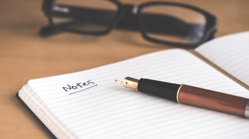 5 tips for taking good notes
