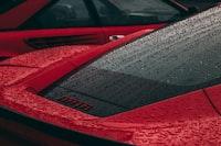 red Ferrari super car