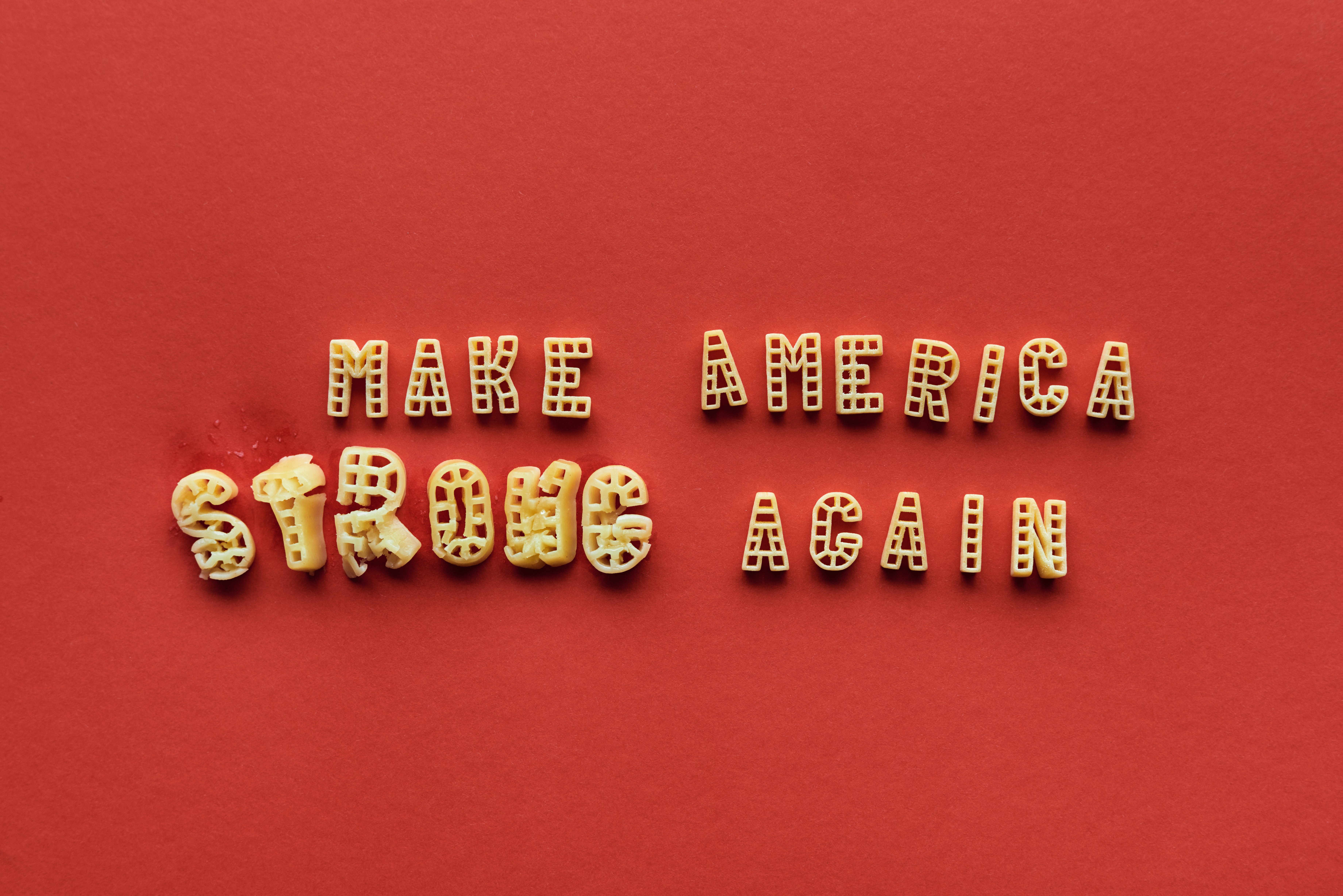 Make America Strong Again poster