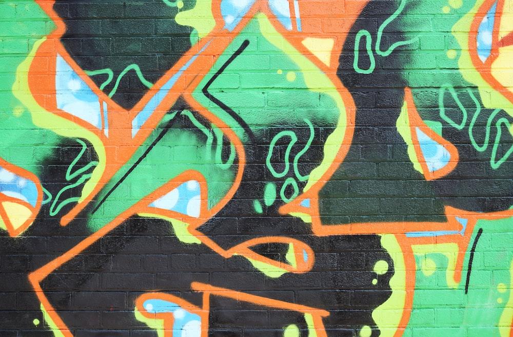 multicolored graffiti during daytime