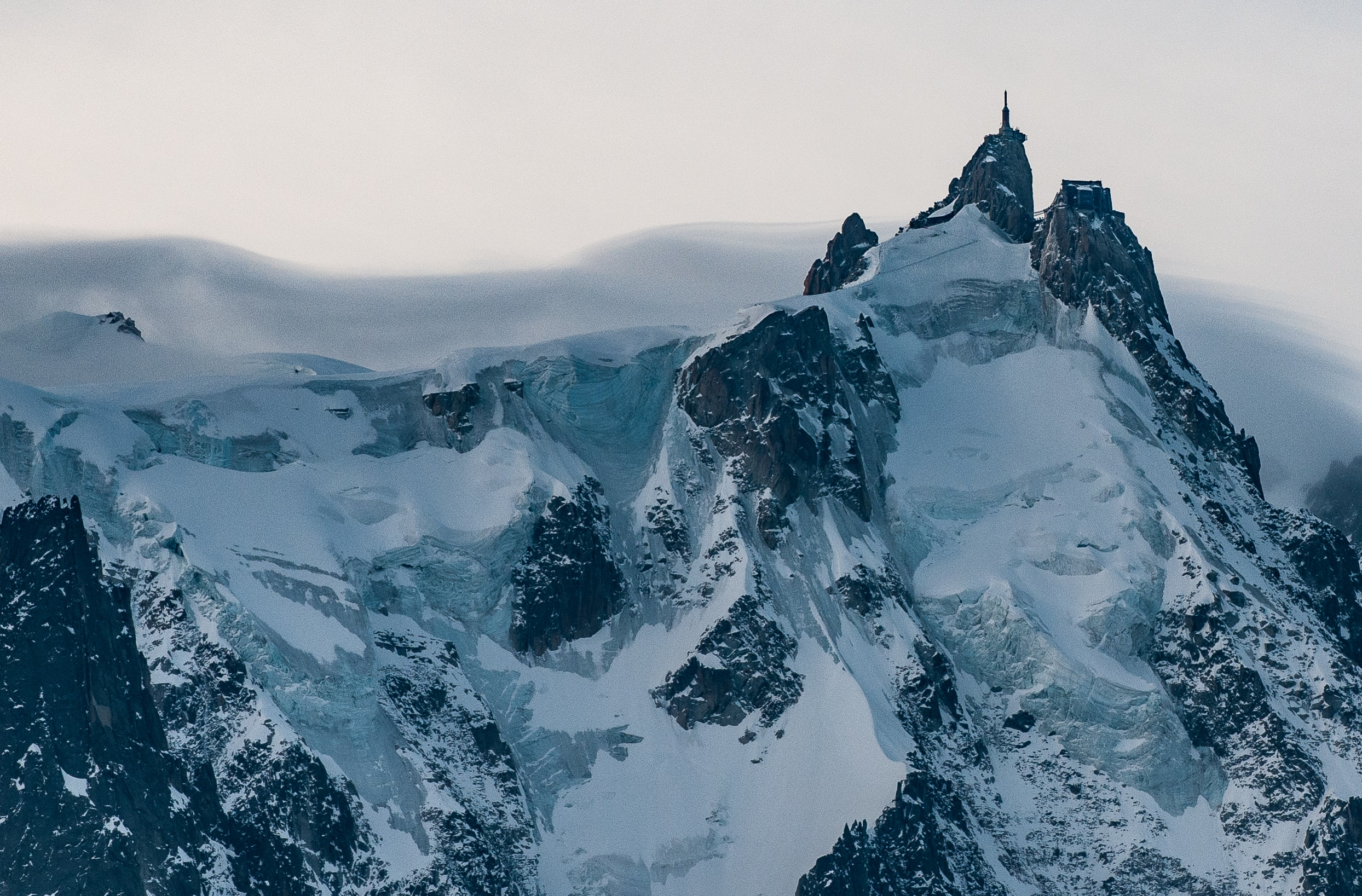 landscape photography mountain covered by snow