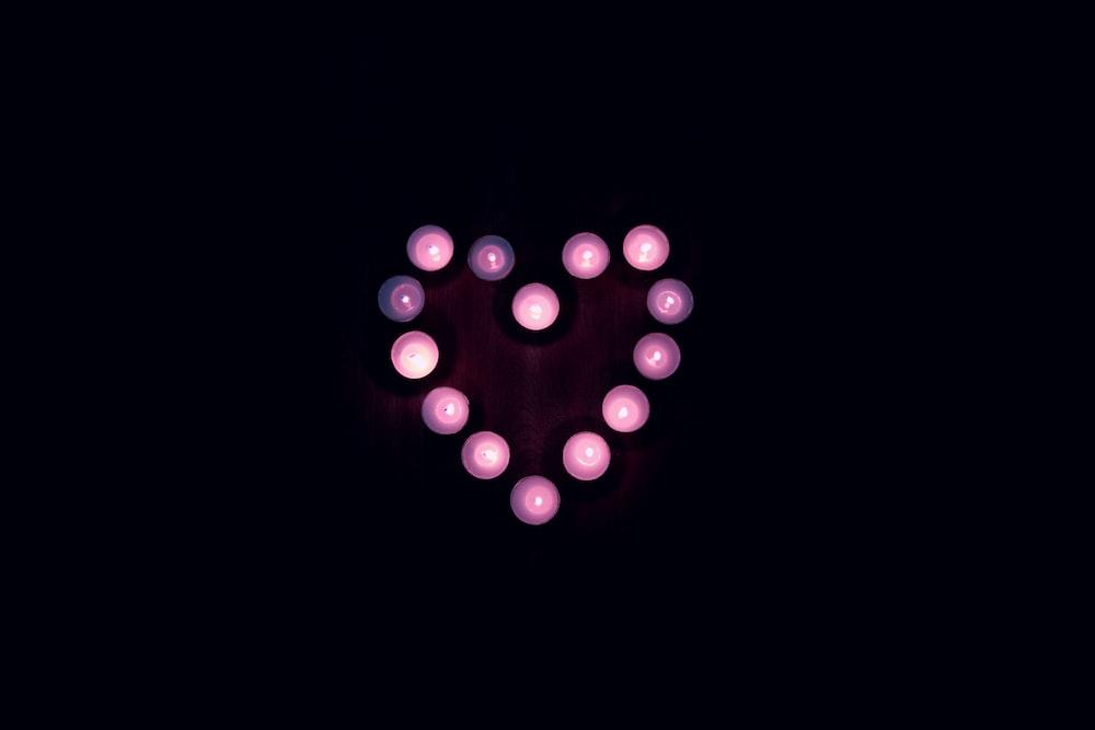heart LED light