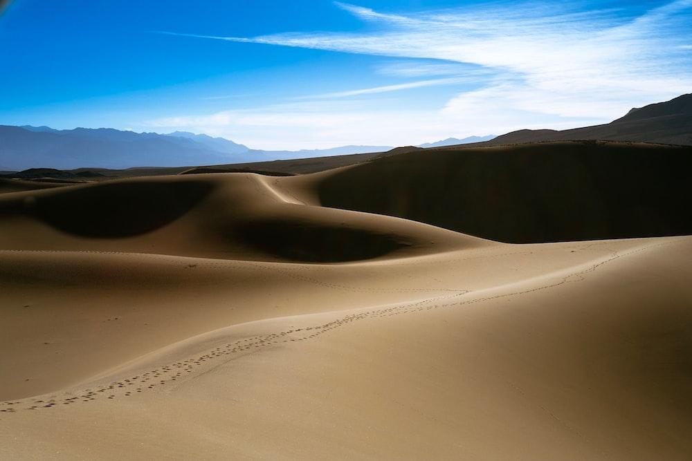 desert taken at daytime