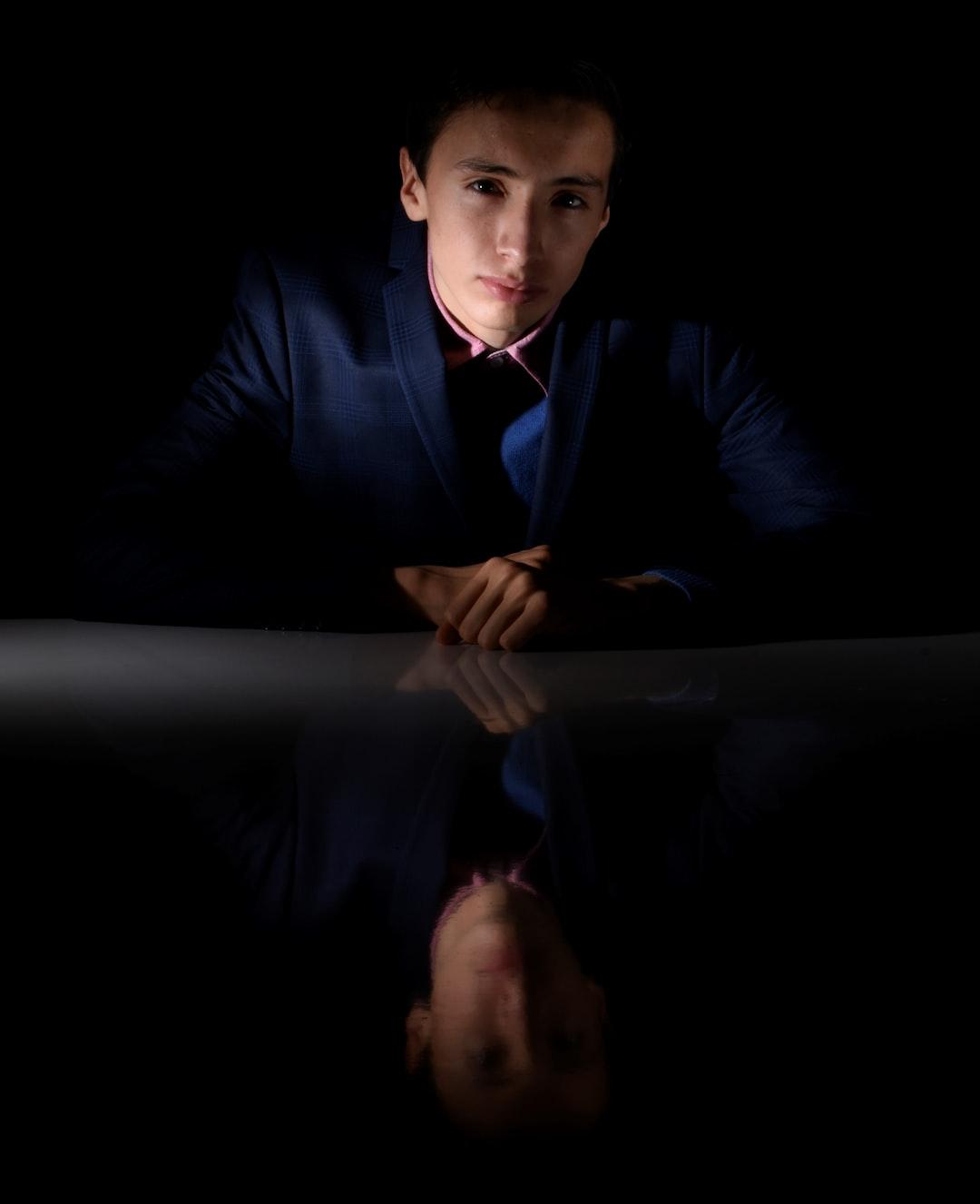 Boy into the dark