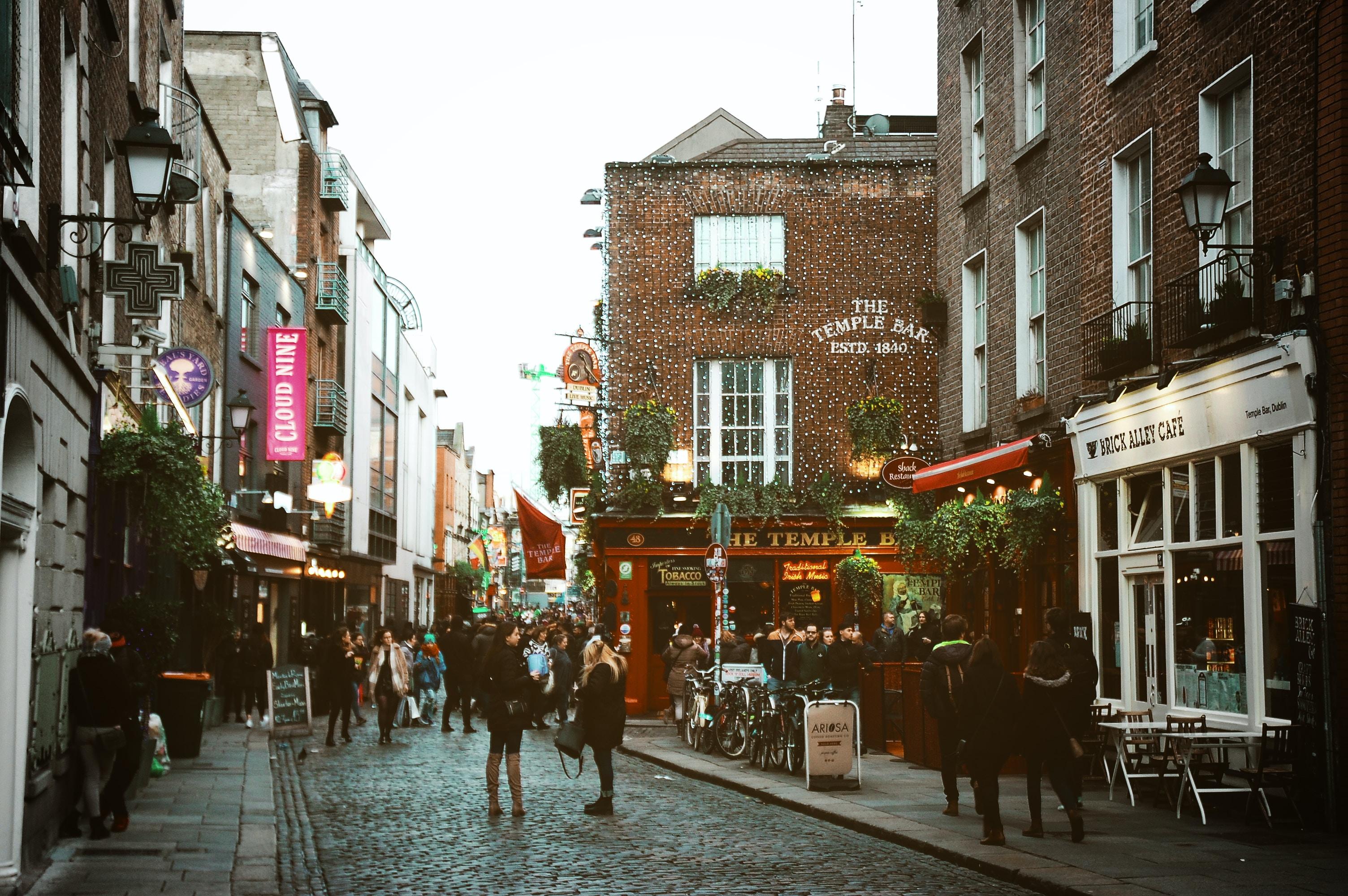 Dublin en San Patricio. Día 1