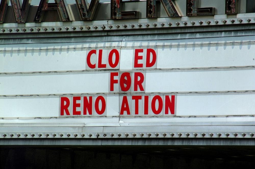 cinema signage