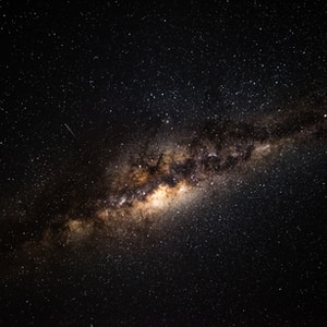 black and brown galaxy