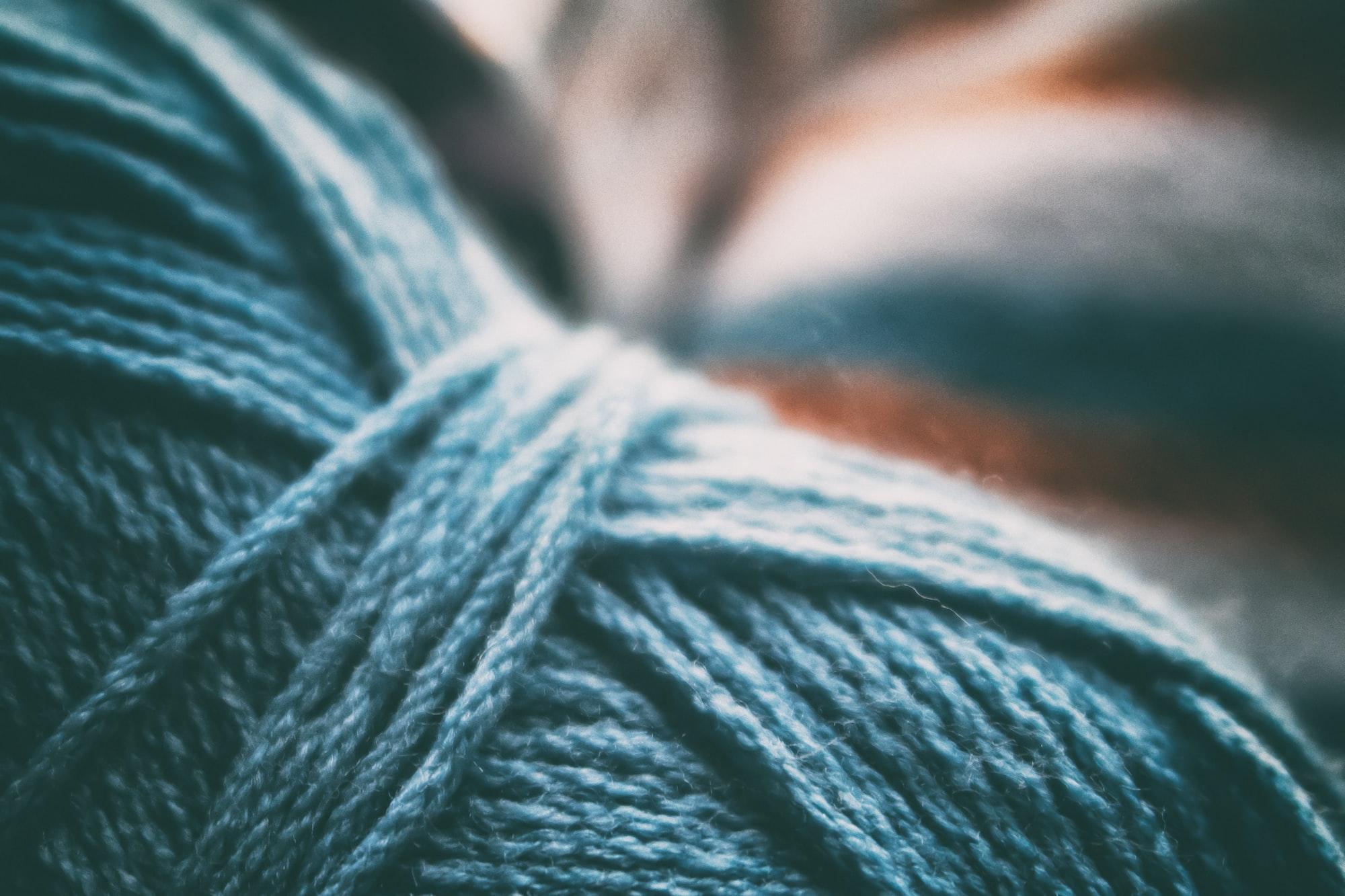 Come lavorare una maglia a diritto ritorto