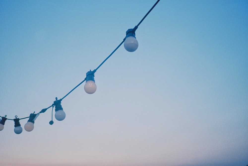 white compact light bulb