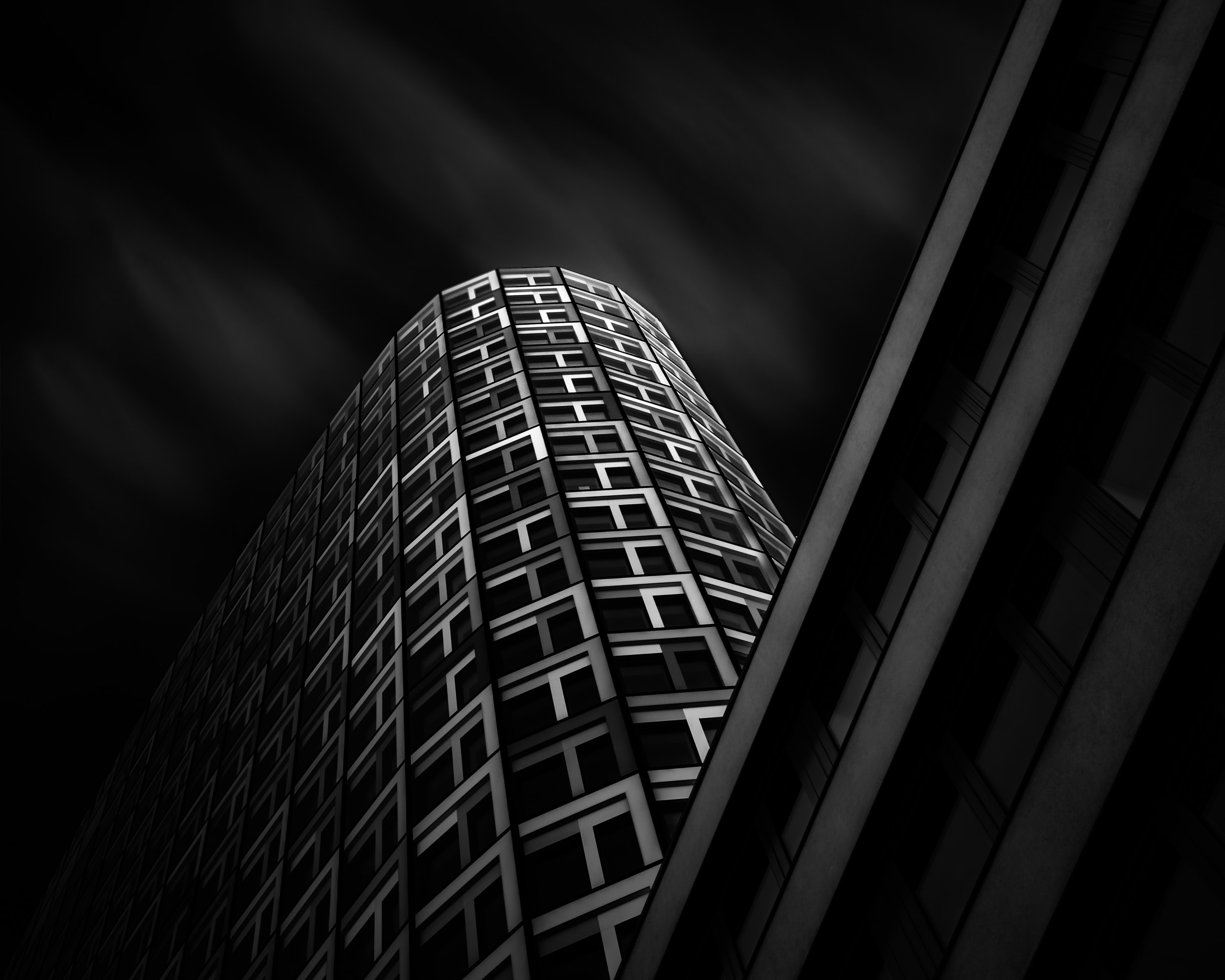 worm's eye view photography of building