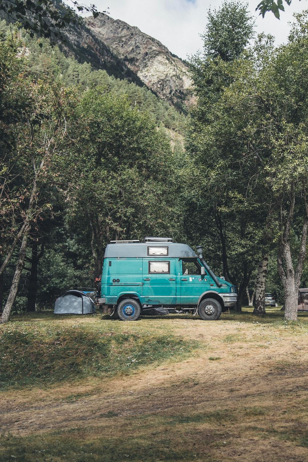 Campingurlaub mit dem Wohnmobil