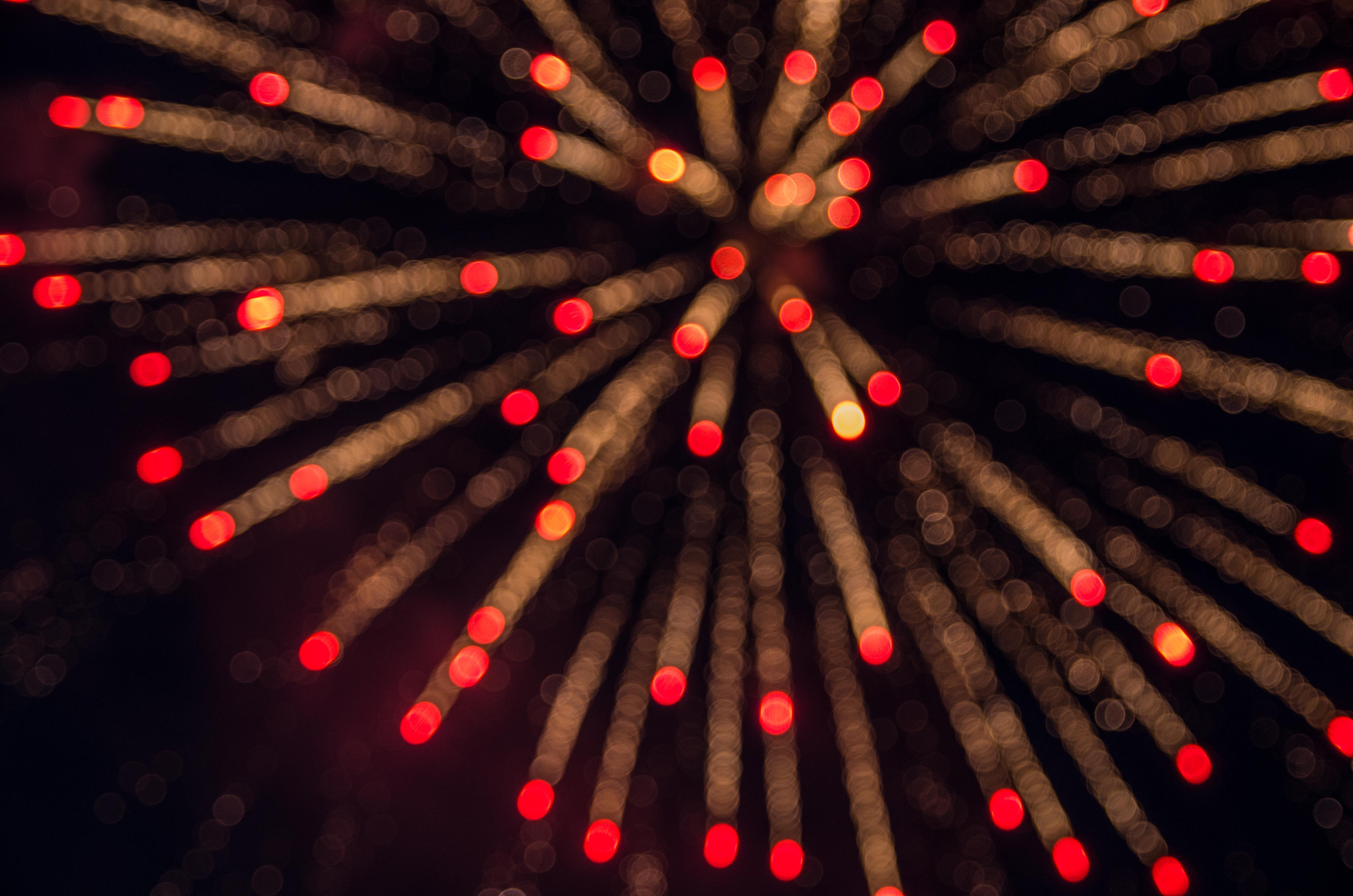 exploded fireworks