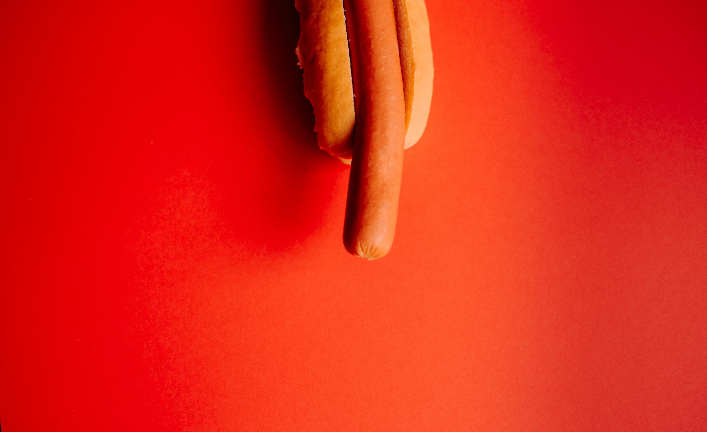 sausage with bun
