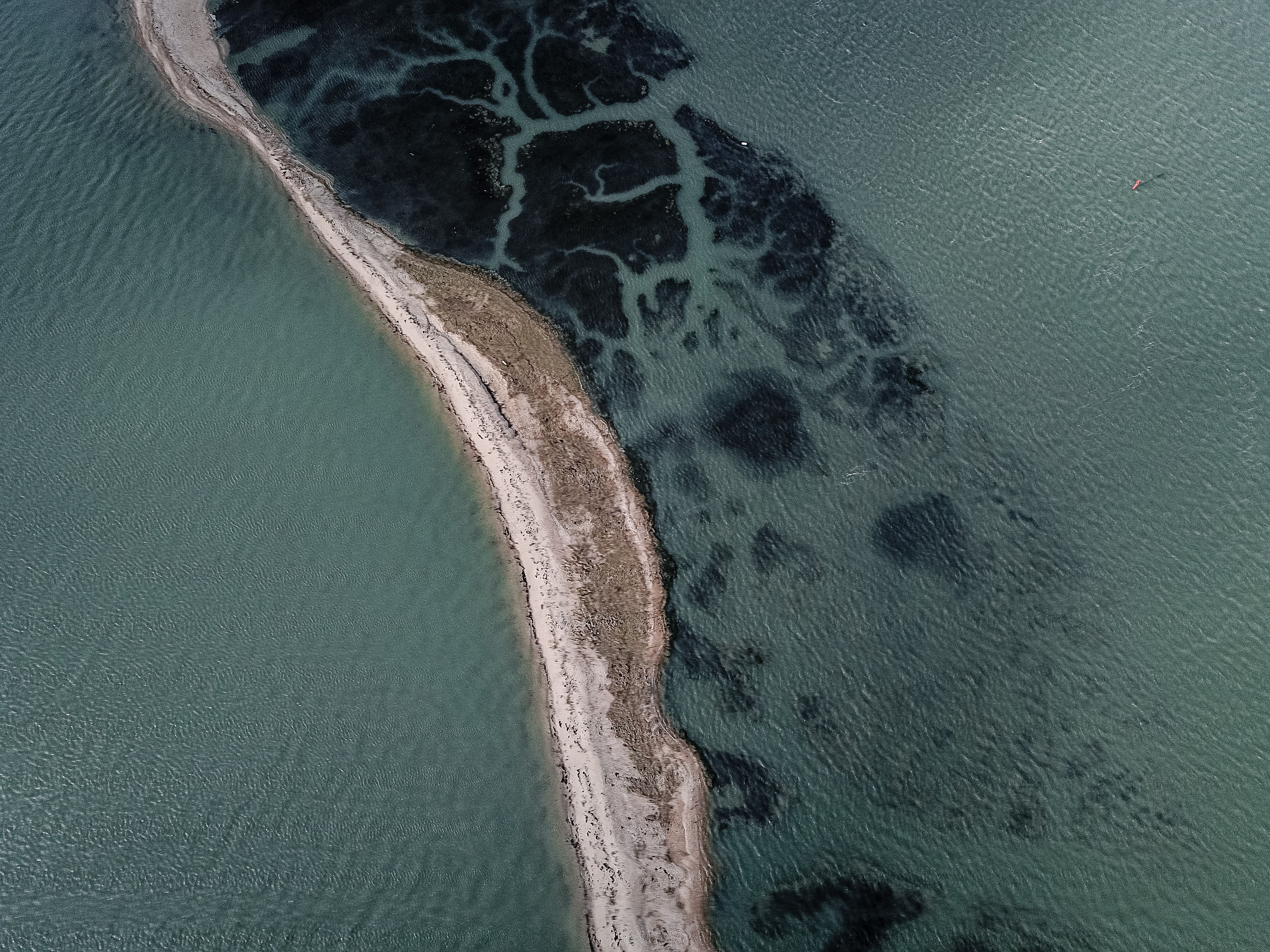 aerial view photography of islet