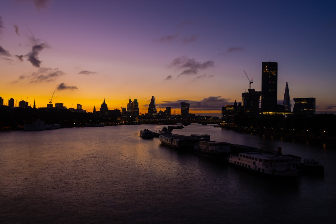 """London is one of themost photographed places on earth. It is difficult to take a picture that """"hasn't been done before"""". This one is a classic view from Waterloo Bridge looking east, but the lovely dawn light made it feel crisp and new. I lingered enjoying the view until the sun had risen."""