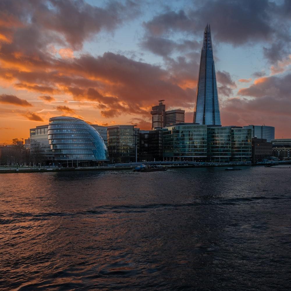 landscape photography of a city