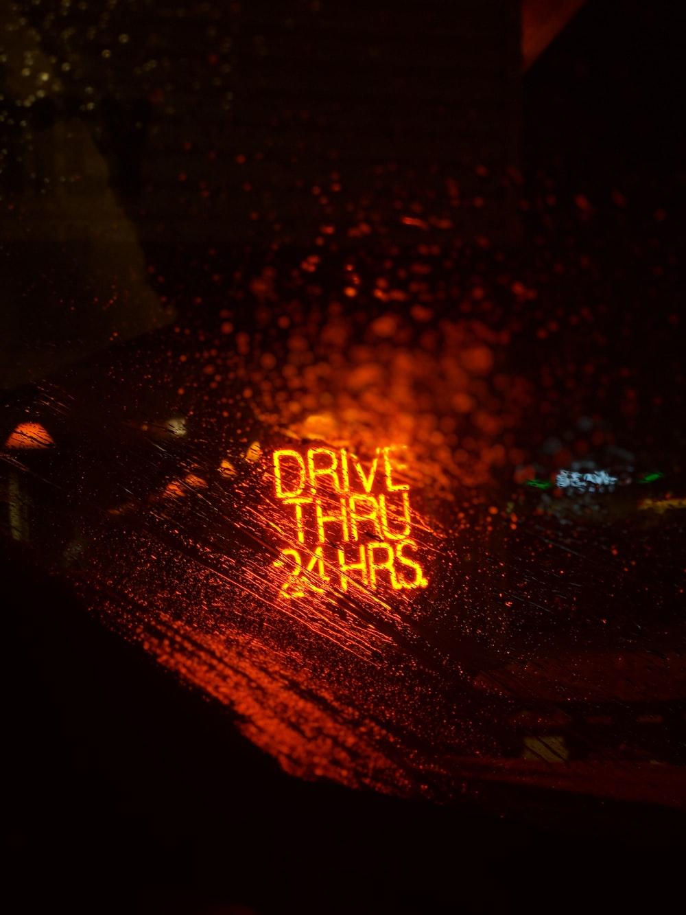 Drive Thru 24 Hrs.