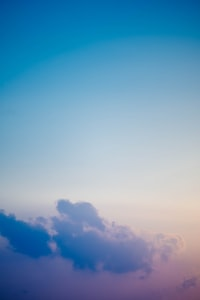 teal and white sky