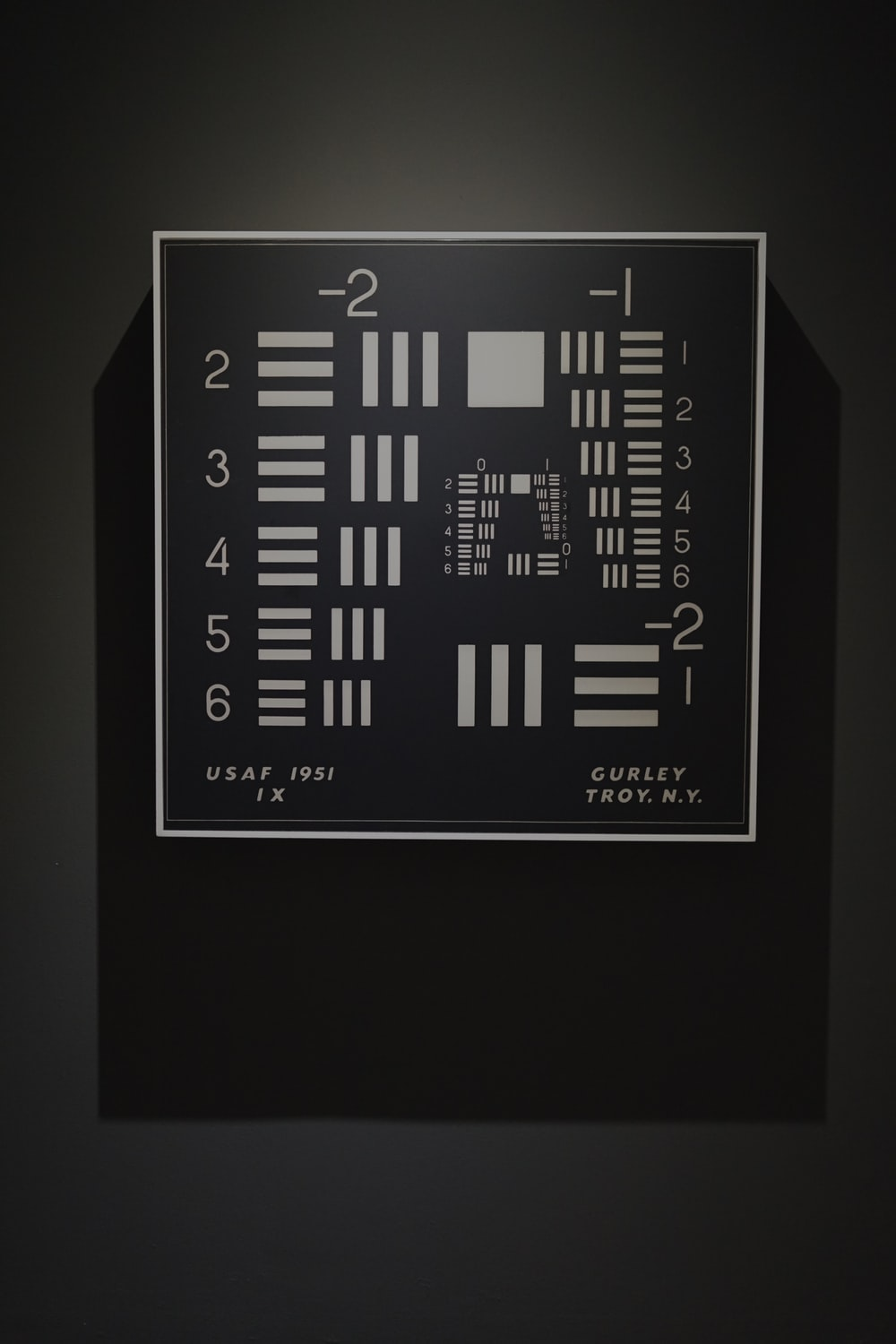 white and black usaf 1951 curley troy wall decor
