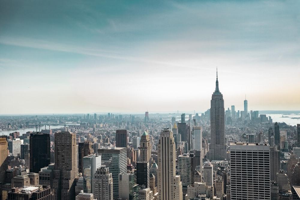 bird's eye view of New York, USA during daytime