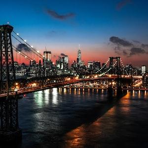 Williamsburg Bridge . NYC