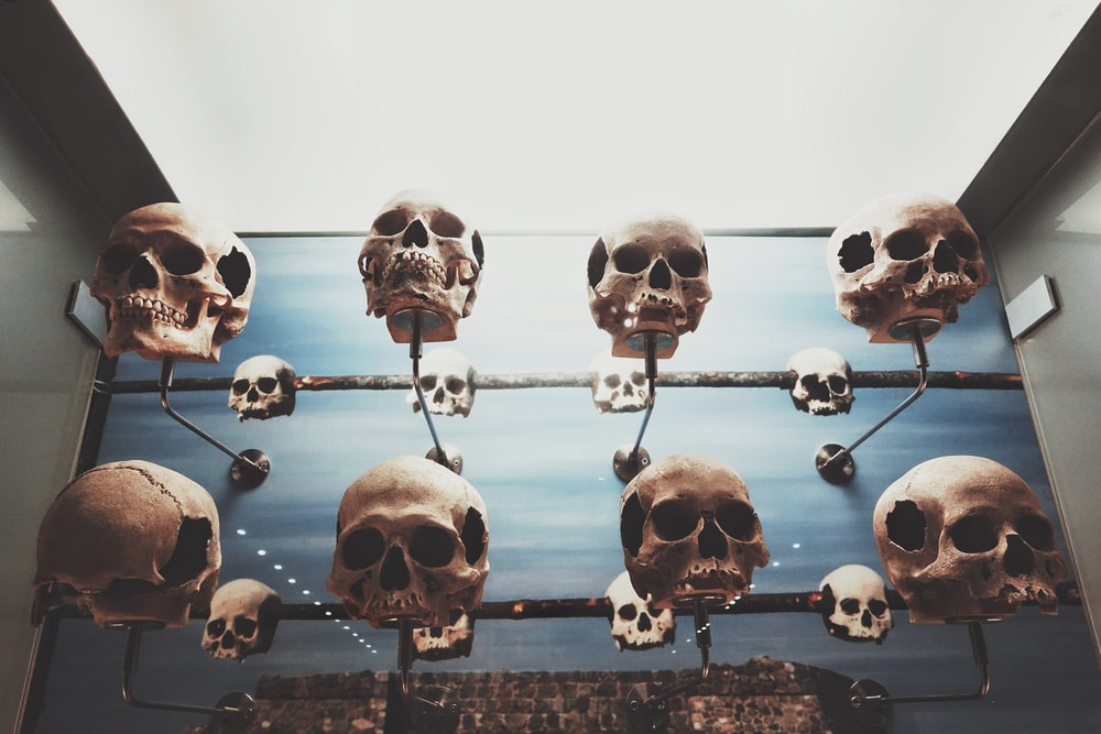 hanged skull collection