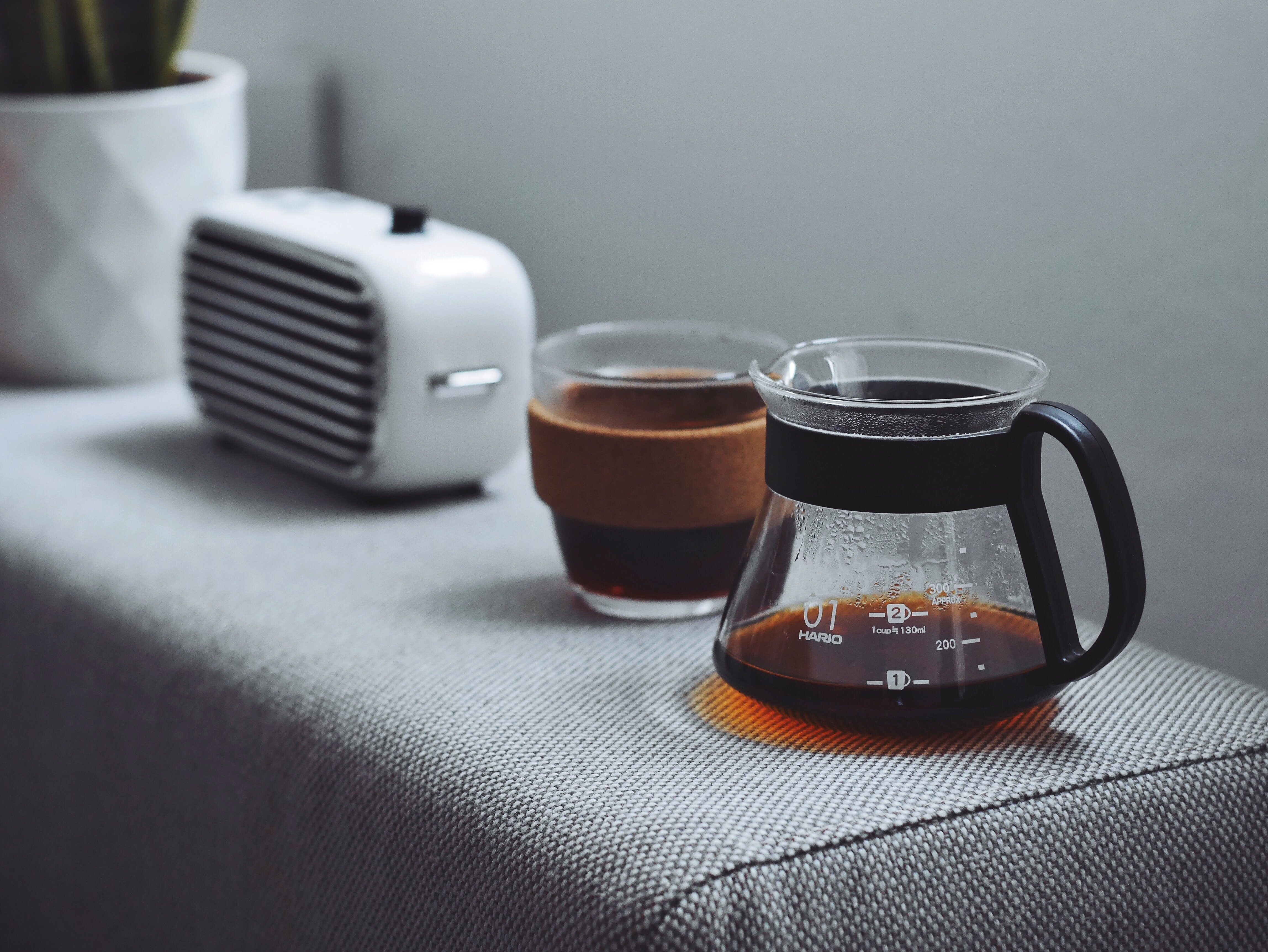 glass coffee pitcher
