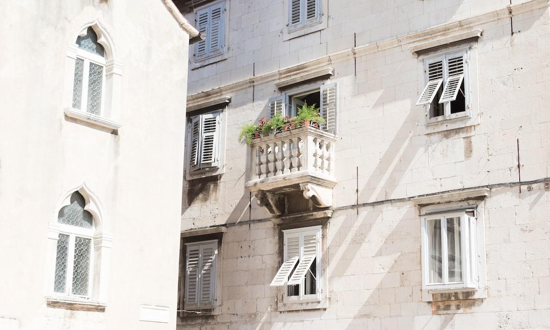 Balcony in the city center of Split