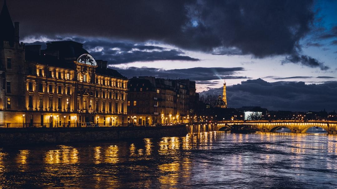 Eiffel Tower over Flood
