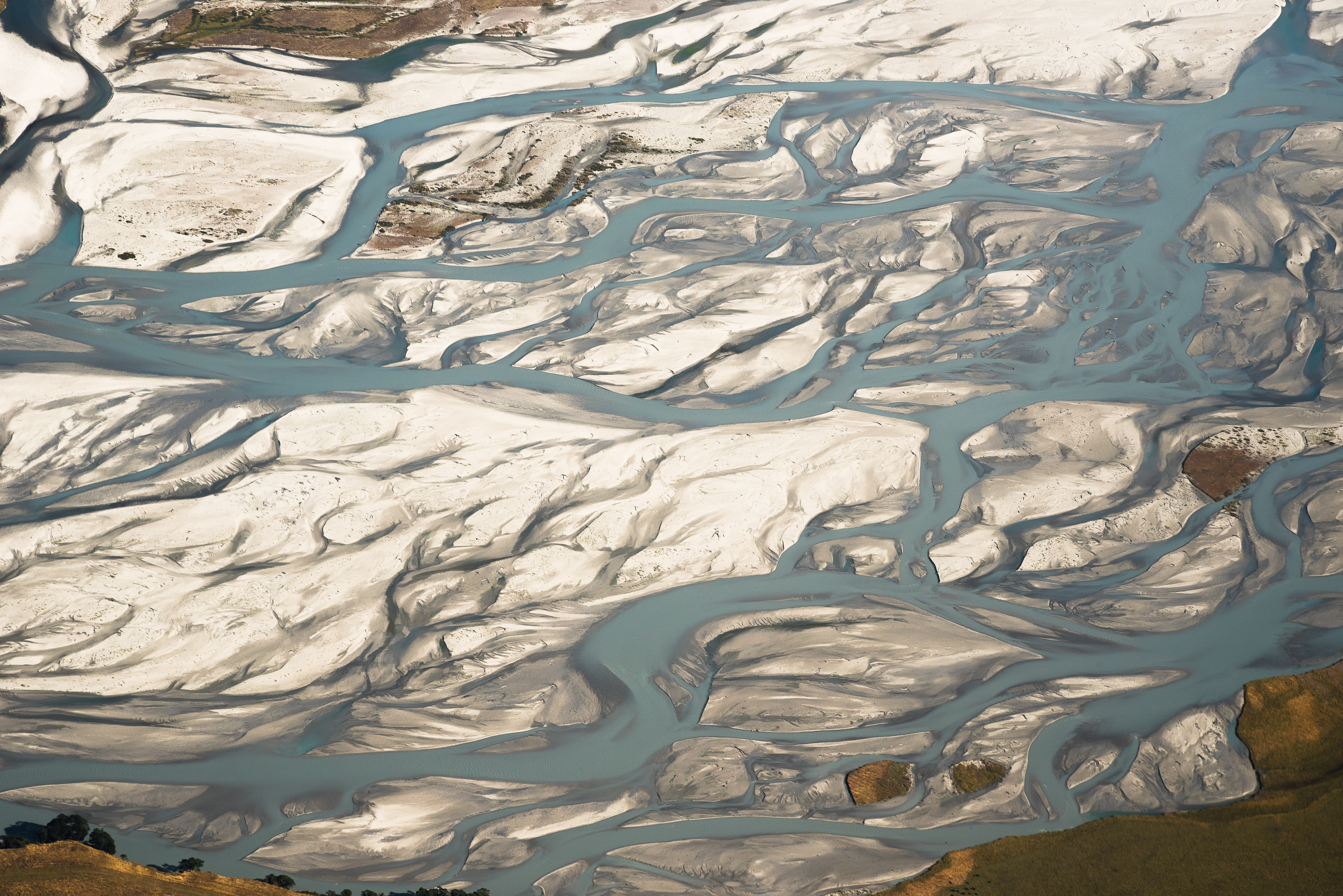 aerial photography of icy land