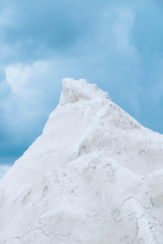 gray mountain peak under blue sky