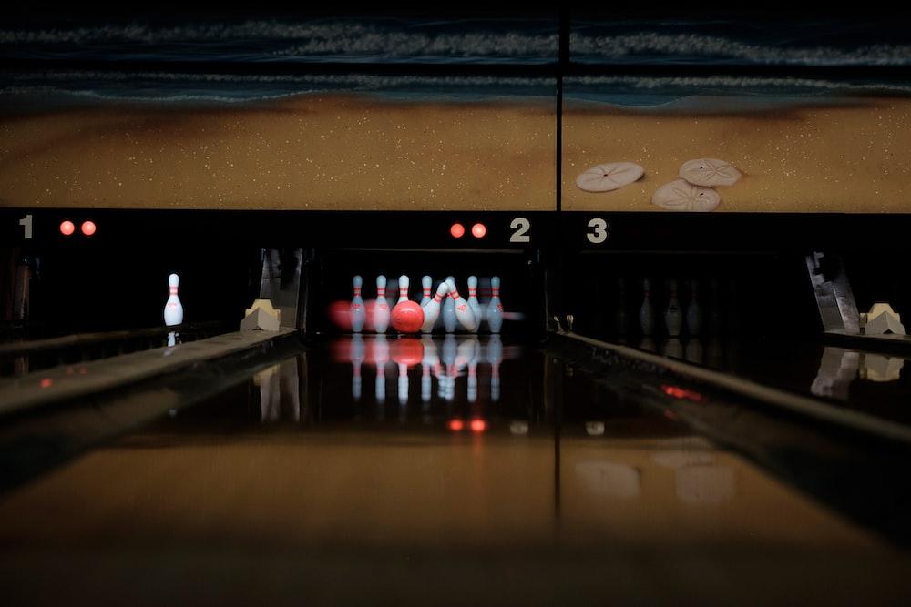 bowling arena