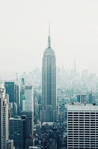 Empire State Building, New York during daytime