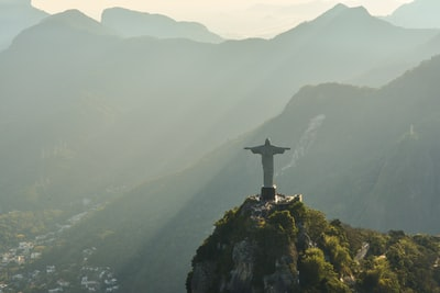 christ redeemer statue, brazil brazil zoom background