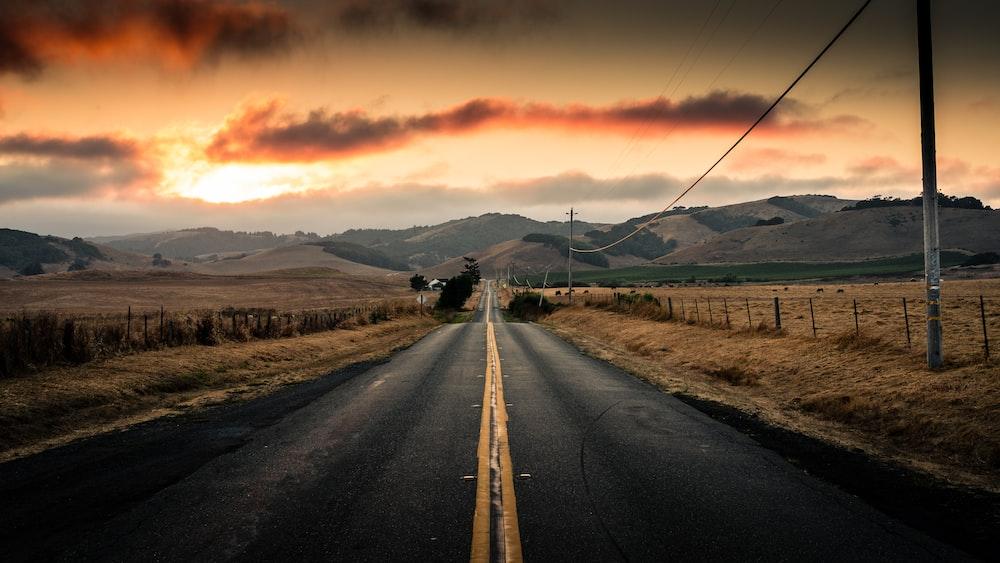 pathway near utiity pole